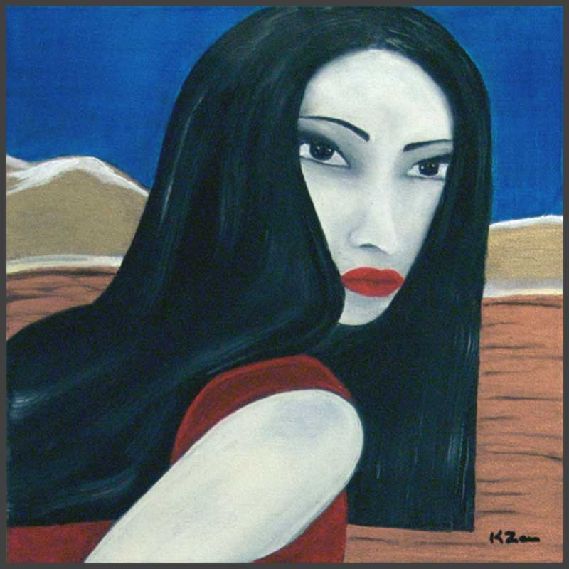 Geisha (12″ x 12″)