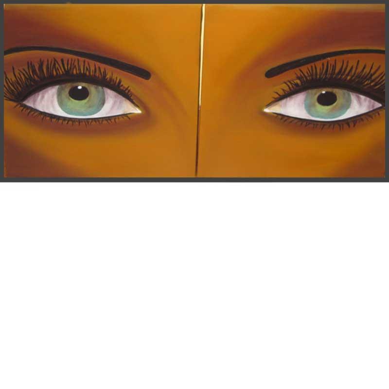 Hypnose (16″ x 18″ chaque panneau)